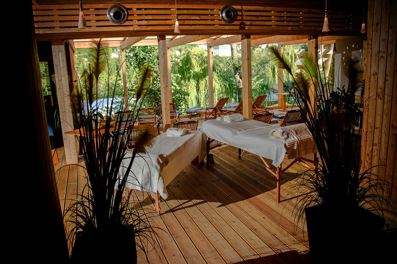 Masáže a relax v Saunaspot Dvorce